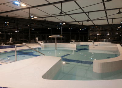 Construction du centre aquatique la vague a palaiseau 91 for Piscine palaiseau